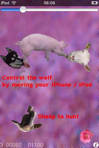 iSheep game with wolf